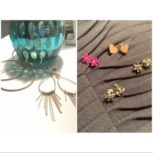Earring Lot - 7 Pairs